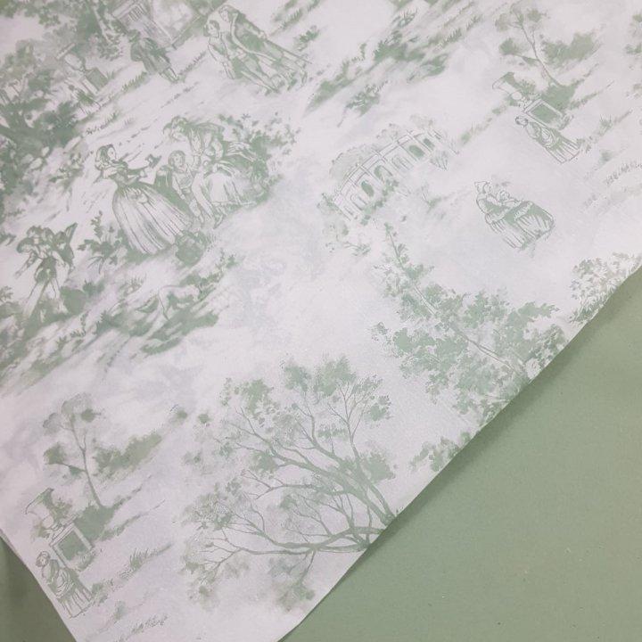 Papel Seda 500 hojas de 62x86cm  VERDE ANTIGUO