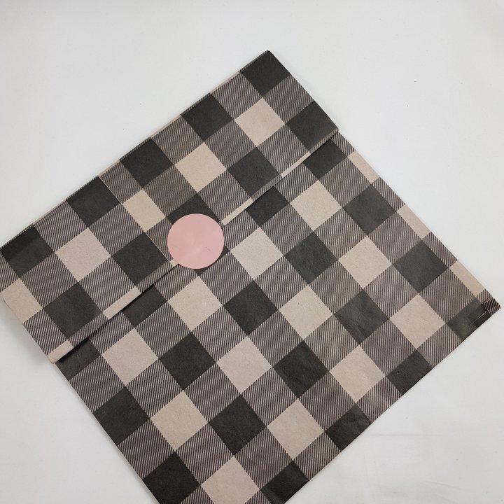 Flat Bags 24 + 9,5 x 42cm 100 units ICE GREY