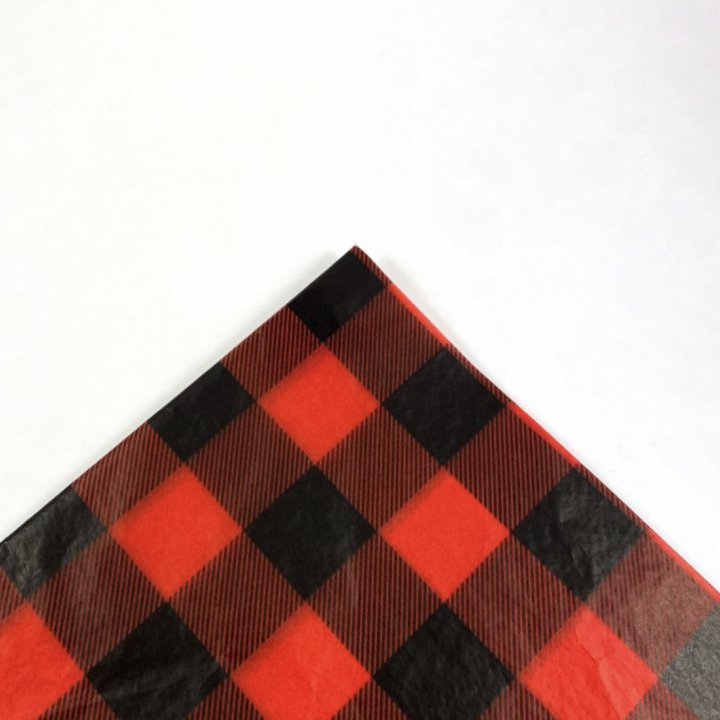 Tissue Paper 500 Sheets 62x86cm RED/ BLACK