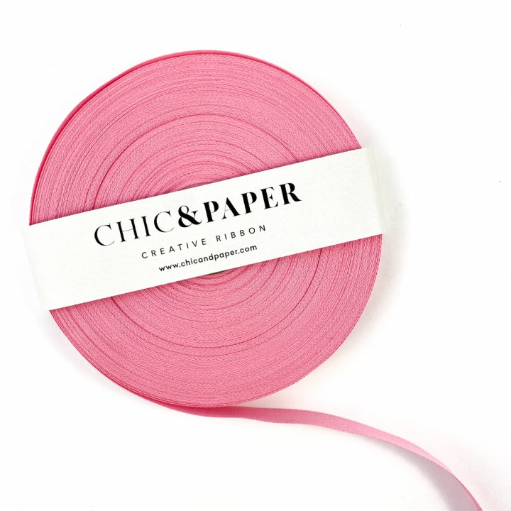 COTTON RIBBON CANDY PINK