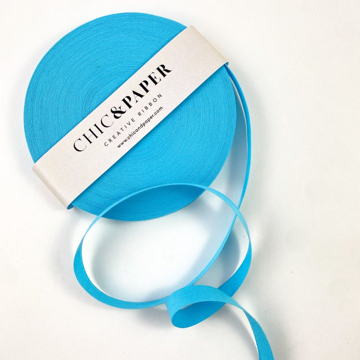 COTTON RIBBON BLUE POOL