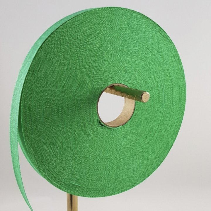 COTTON RIBBON GREEN GRASS