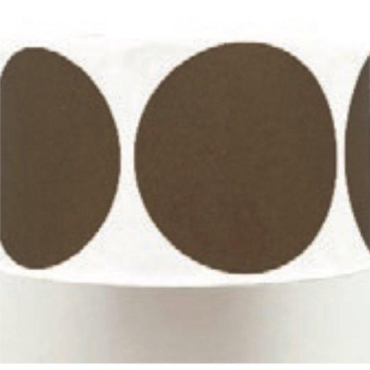 Etiquetas redondas Chocolat 50mm 500 unidades