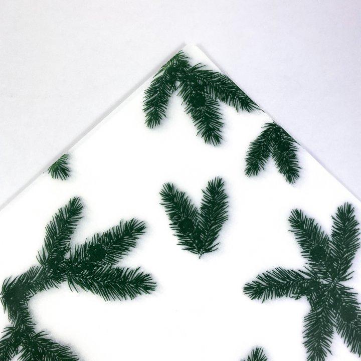 Papel Seda 25 hojas de 62x86cm  VERDE