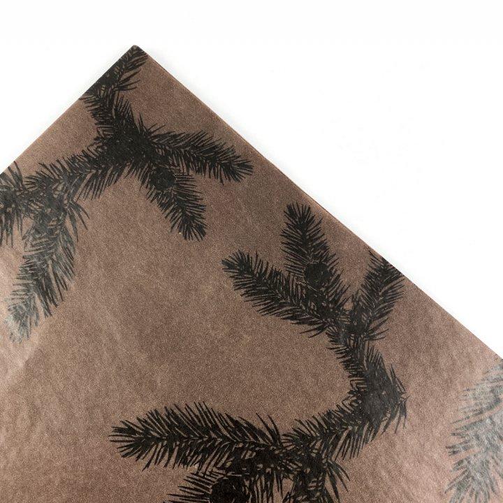 Papel Seda 25 hojas de 62x86cm CHOCOLATE/NEGRO