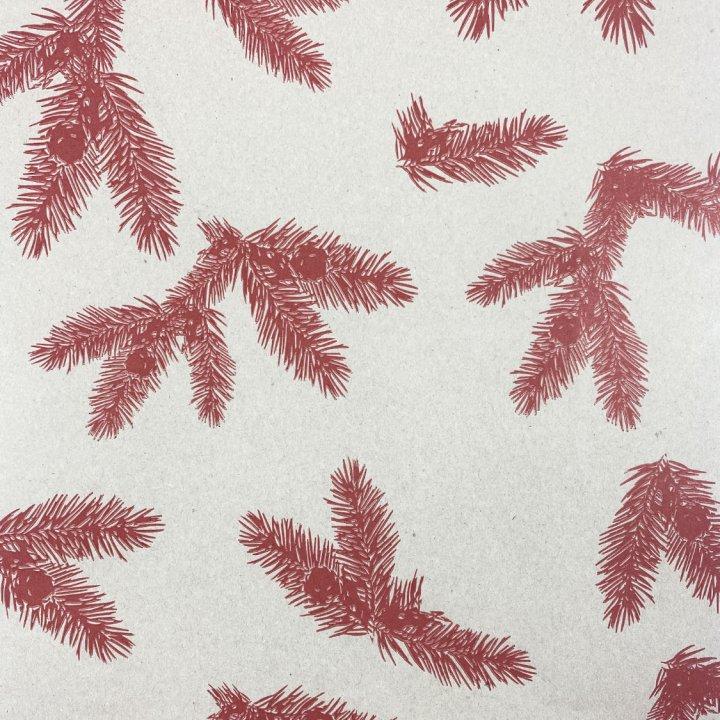 Papel Seda 500 hojas de 62x86cm GRIS/RED