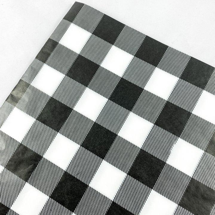 Papel Seda  25 hojas de 62x86cm NEGRO
