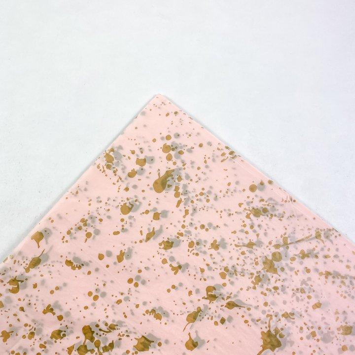 Papel Seda 500 hojas de 62x86cm ROSA/ORO