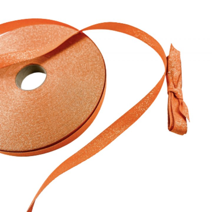LUREX RIBBON ORANGE