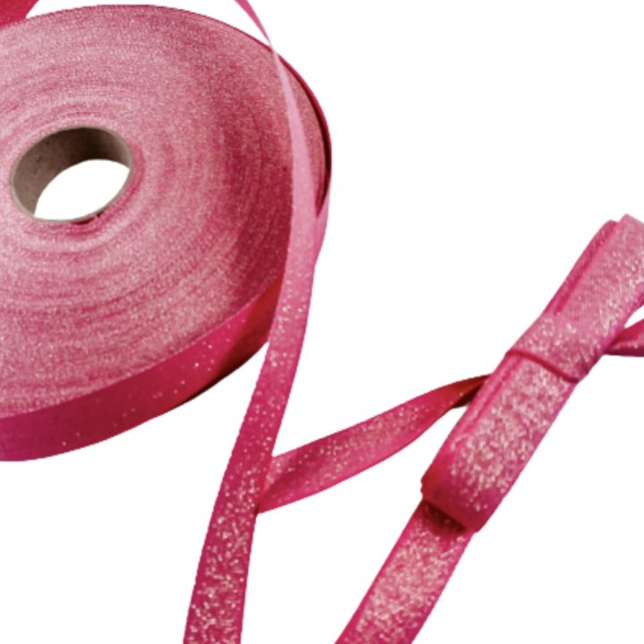 LUREX RIBBON  RASPBERRY