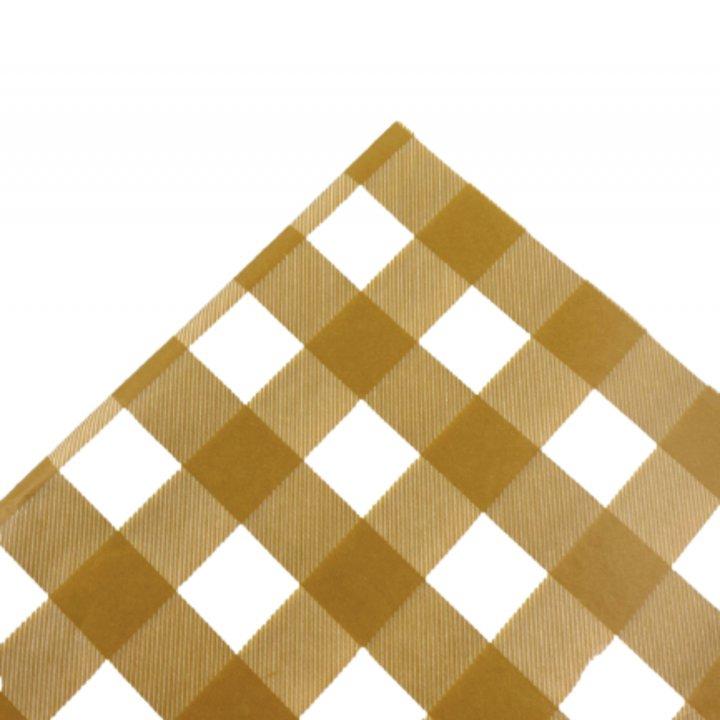 Tissue Paper 25 Sheets 62x86cm MUSTARD