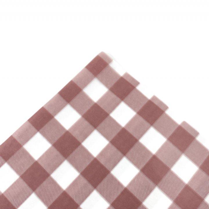 Papel Seda  25 hojas de 62x86cm ROSA VINTAGE