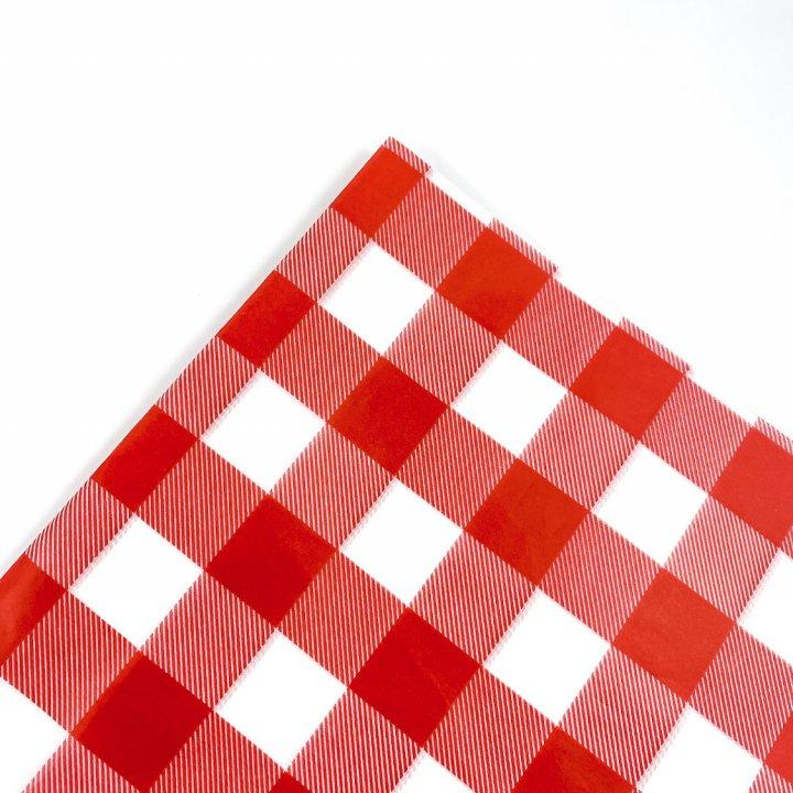 Papel Seda  25 hojas de 62x86cm CORAL