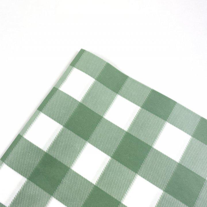 Papel Seda  25 hojas de 62x86cm VERDE ANTIGUO