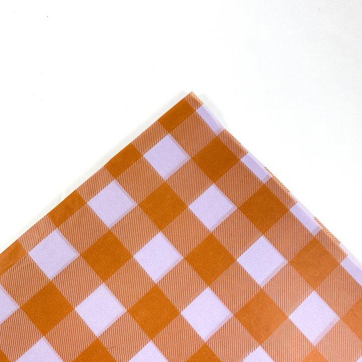 Papel Seda  25 hojas de 62x86cm LAVANDA/CALDERA