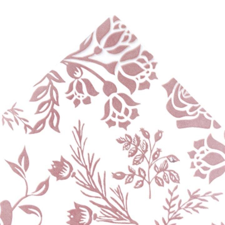 Papel Seda 500 hojas de 62x86cm ROSA VINTAGE