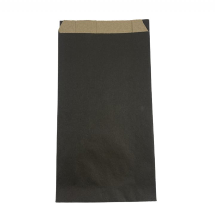 Sobres MINI  12x23+4,5 cm  100 unidades  BLACK