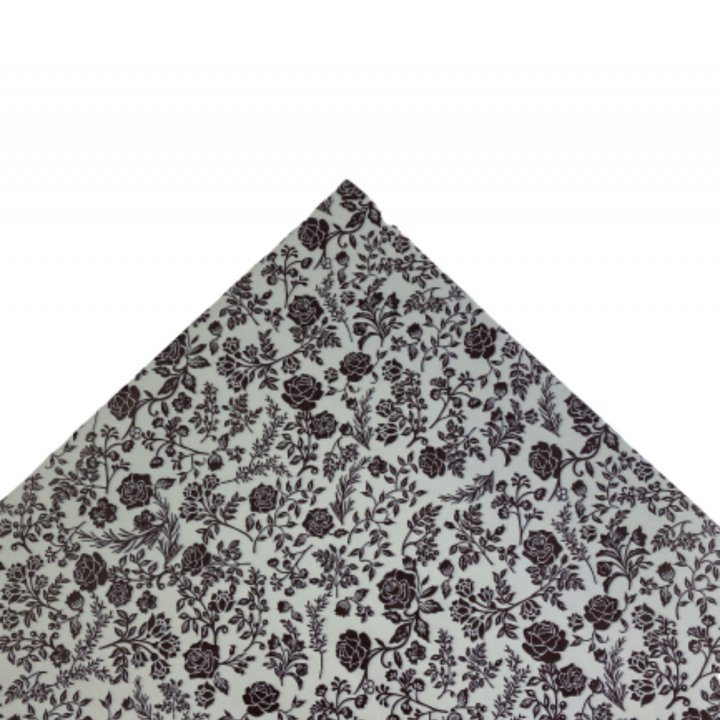 Papel Seda  25 hojas de 62x86cm GRIS/CHOCOLAT